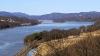 Hudson River Valley from Bridge