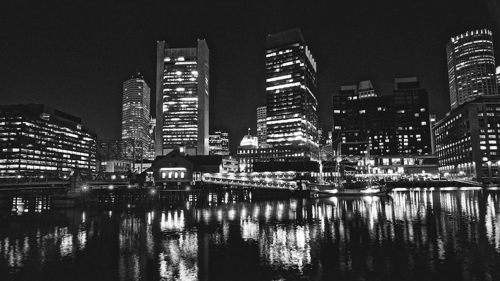 Boston in B&W