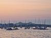 Boston Harbor Tobin Bridge