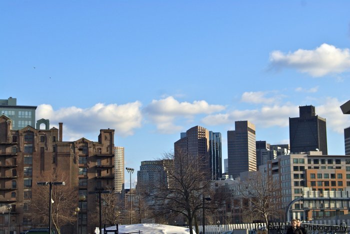Boston Skyline from Paul Revere Park