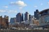 TD Bank Garden and Boston Skyline