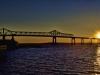 Sunset at Braga Bridge