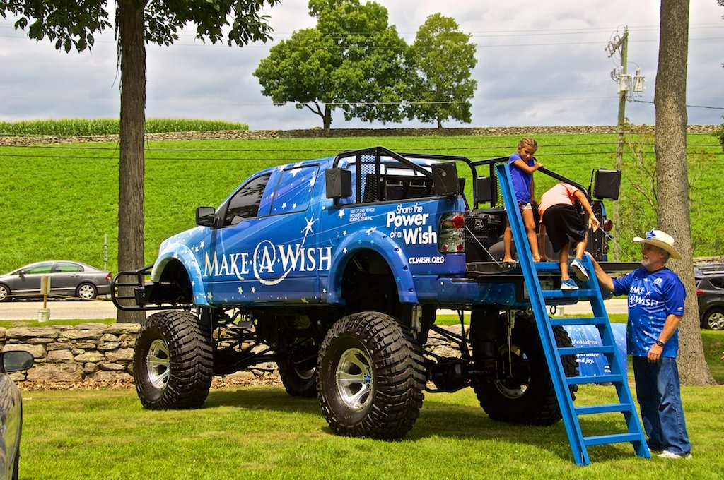 Make-A-Wish Monster Truck