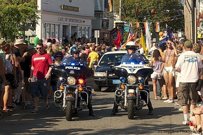 Parade Start
