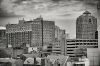 New Haven Skyline B & W