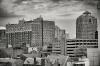 New Haven Skyline B & W