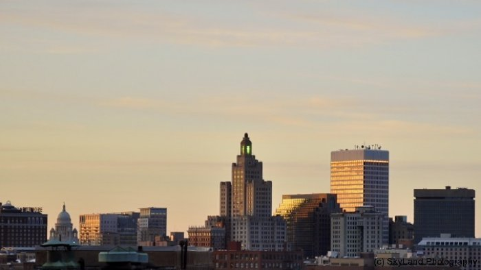 Down Providence at Sunset