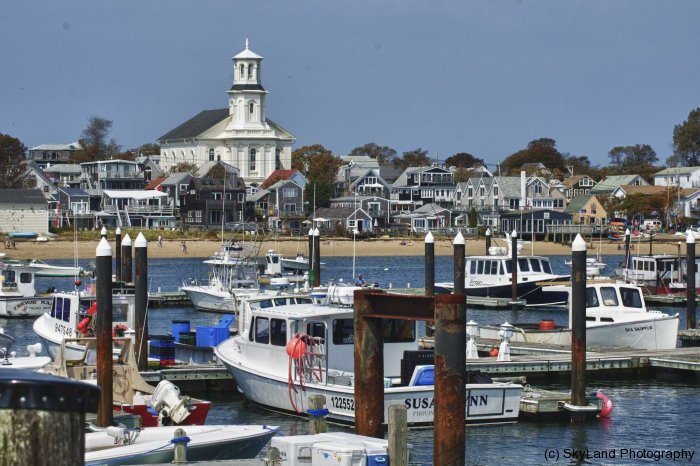Shorefront Provincetown Harbor