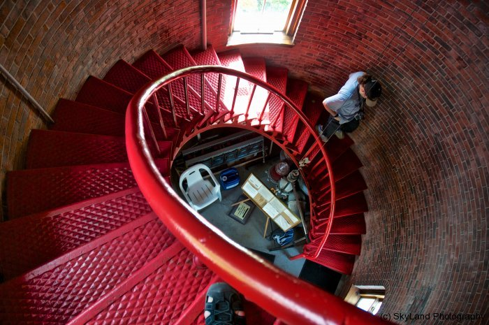 Staircase Back to the Ground Level