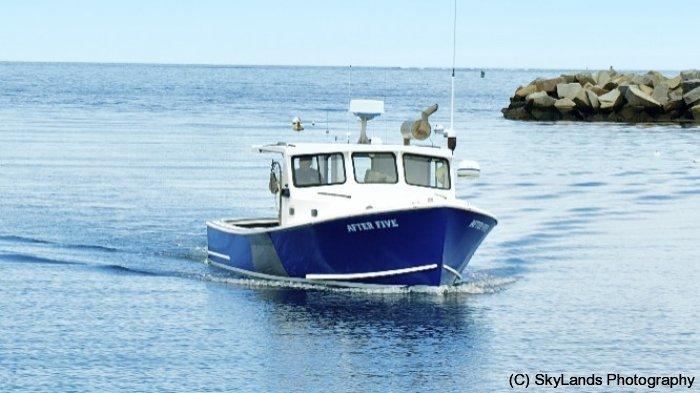Lobster Boat Returns