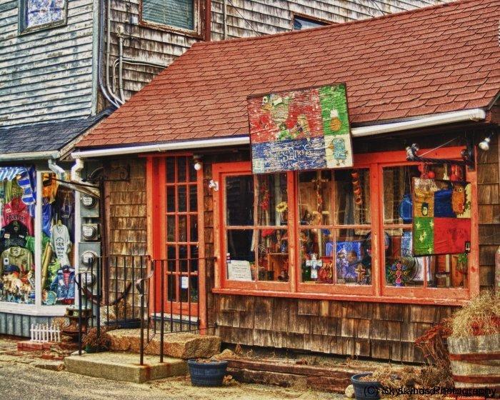 Shops on Street