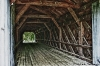 Interior Trusses of Covered Bridge