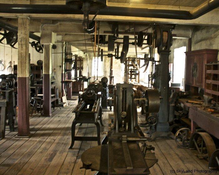 Slater Mill workfloor