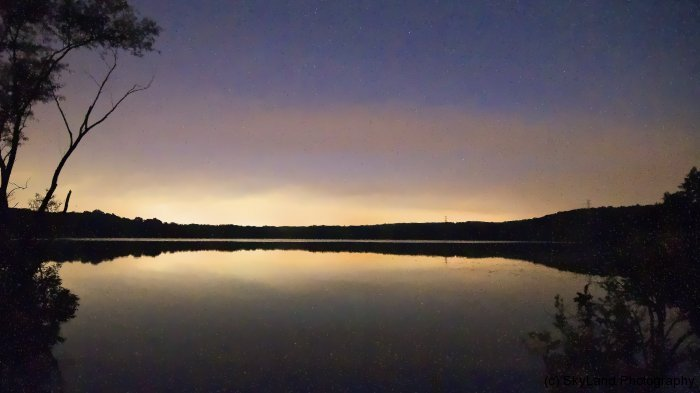 Sneech Pond After Dark