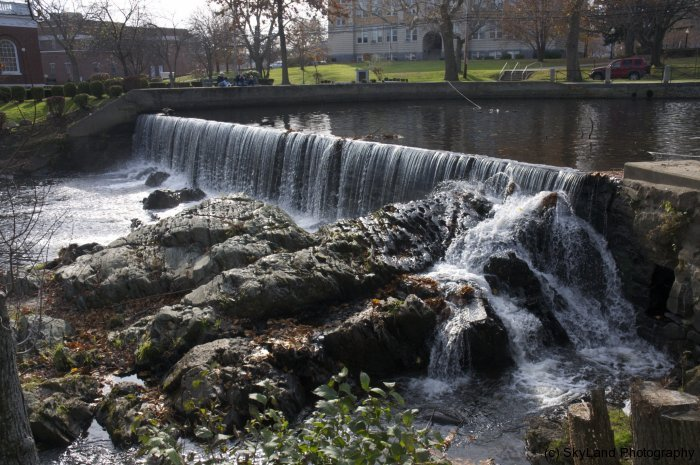 Waterfall at Town Hall
